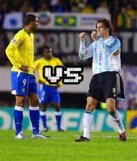 Argentina Vs Brazil friendly match