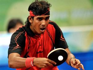 Indian Table Tennis Player
