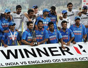 India won the series