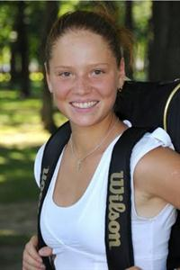 female tennis player Marta Sirotkina