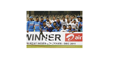 India vs West Indies ODI 2011
