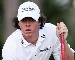 Rory McIlroy - World no 2 golf player