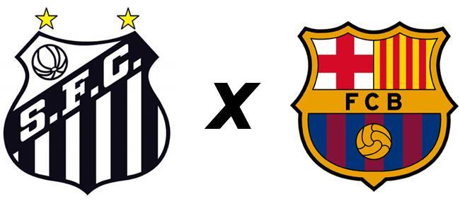 Barcelona vs Santos