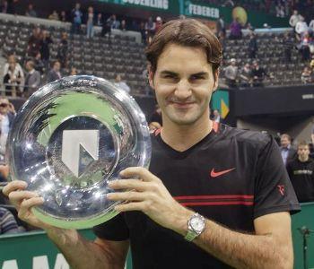 Federer Rotterdam Open 2012