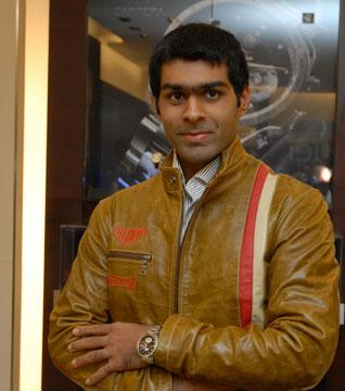 Karun Chandhok Indian Formula One F1 Motor Racer