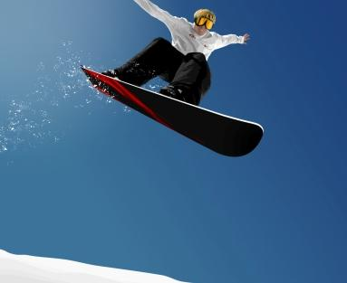 Snowboarding in India Photo Wallpaper