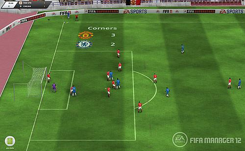 FIFA Manager 12 game play screenshots
