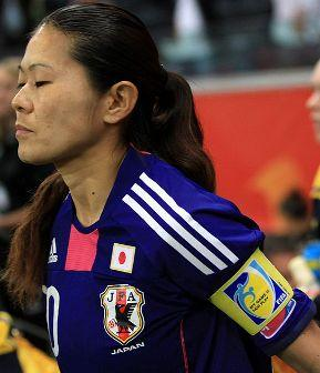 Homare Sawa Japanese Women Footballer Photo Wallpaper