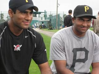 Photo of Rinku Singh Dinesh Patel first Indian baseball players in MLB