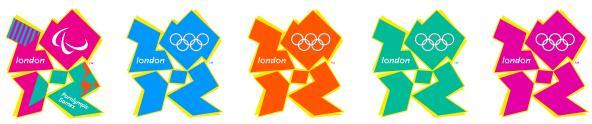 London Olympics 2012: Games of the XXX Olympiad Logo