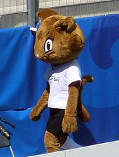 Mascot for World Cup 2011-Karla kick
